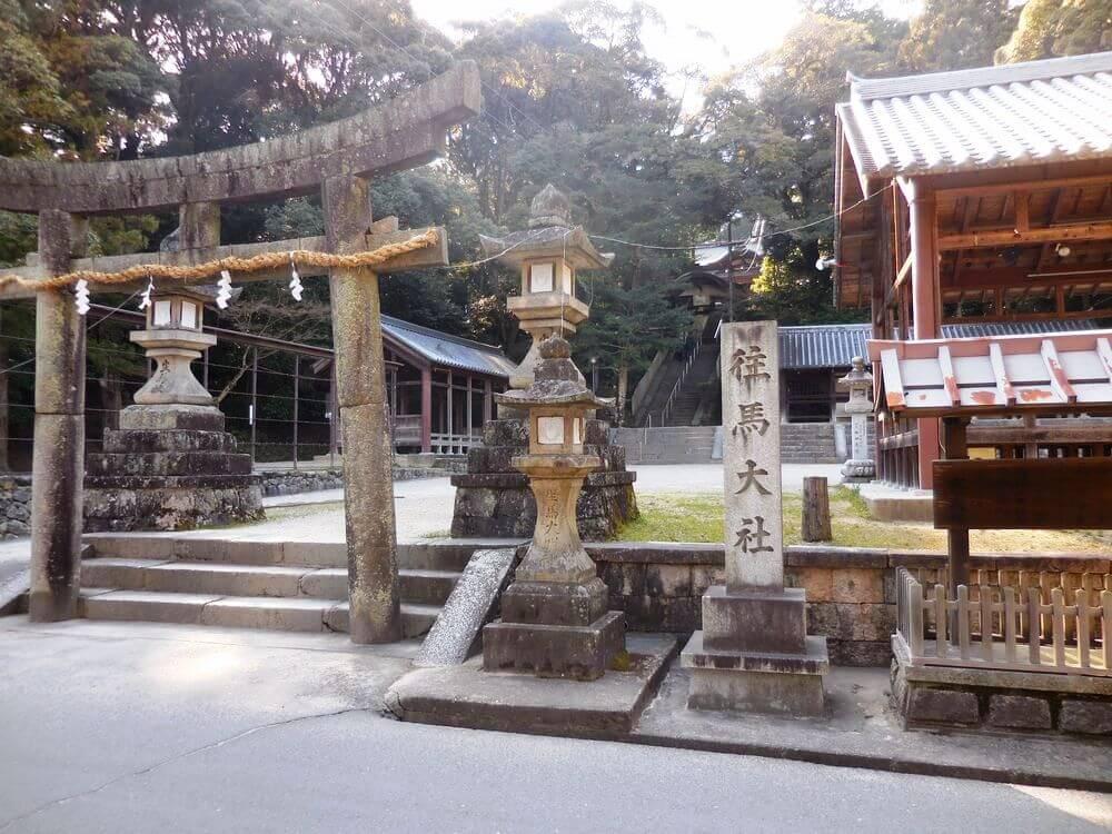 往馬大社(いこまたいしゃ)|生駒市壱分町 | 奈良いこマップ